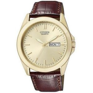 Citizen BF0582-01P Men's Brown Leather Band Watch